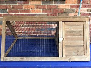 Triangular Guinea pig or small rabbit hutch Lawson Blue Mountains Preview