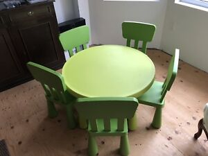 Children's table from IKEA