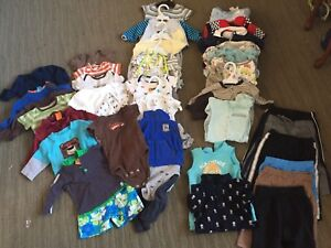 0-3 month boy clothing lot