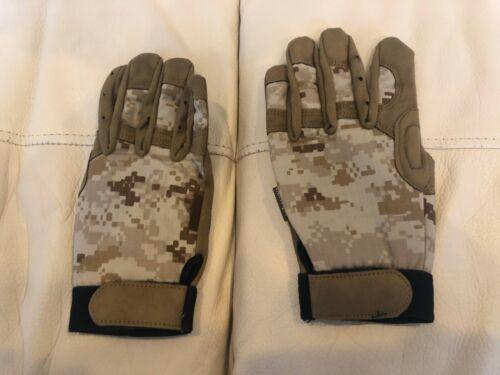AOR1 Camo Gloves LARGE (L) Size DEVGRU Navy Seal Desert Digital Tan