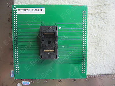 U0248392 Tsop48bp Socket Adapter For Up818p Up-818p Up828p Up-828p Programmer