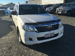 2013 Toyota hilux sr extra cab (2wd) automatic dual fuel Rochedale South Brisbane South East Preview