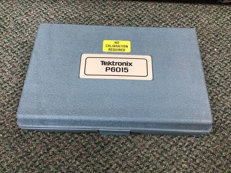 Tektronix P6015 1000x High-Voltage Probe with Case Set