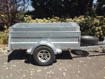 Trailer 7x4 Galvanised Tamworth 2340 Tamworth City Preview