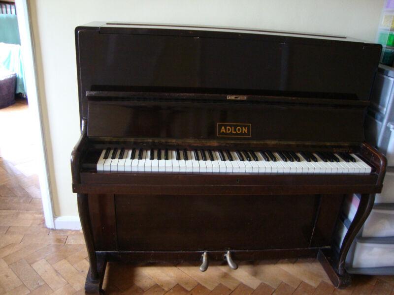 Adlon Upright Piano - Good Condition