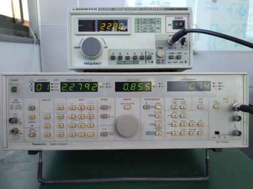 Panasonic VP-7723A Audio Analyzer 5Hz to 110KHz