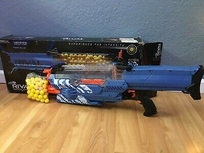 Nerf Rival Nemesis MXVII-10K, Blue ( Exclusive)        OPEN BOX TESTED