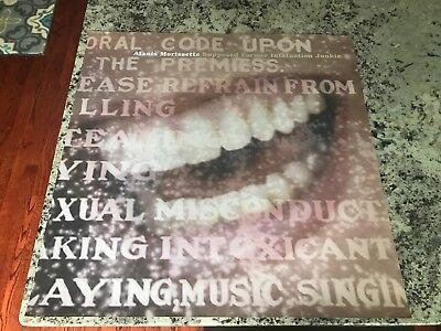 Alanis Morissette - Supposed Former Infatuation Junkie 1998 promo poster 24X24