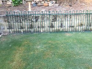 Spear top green pool/garden fencing PENDING P/U
