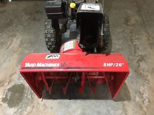 Snowblower 8HP 26""