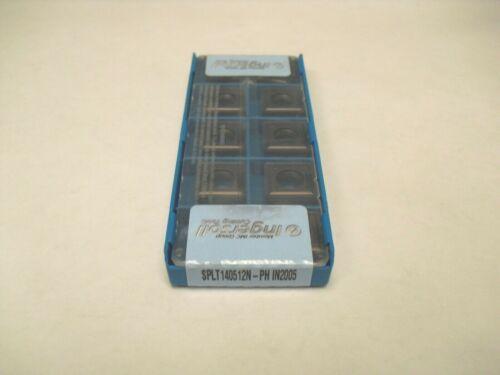 SPLT 140512N PH IN2005 Ingersoll Insert **10PCS** Genuine