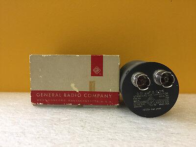 General Radio 1403-r 0.01 Uuf 1800 V Peak Standard Air Capacitor. Tested