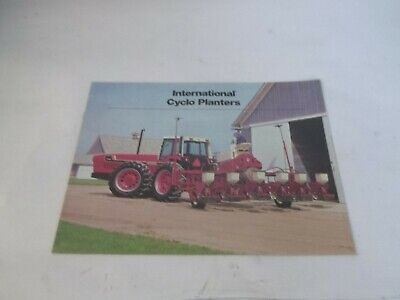 International 400 500 Cyclo Planters For 22 Articulating Tractors 3588 Brochure