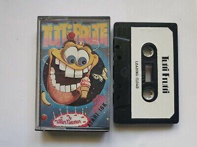 Atari Game Tutti Frutti Rare Game!