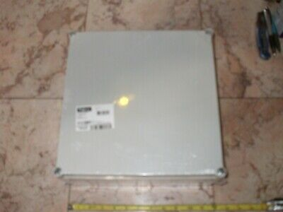 Hoffman Q303013pci Enclosure Junction Box Opaque Cover Gray.