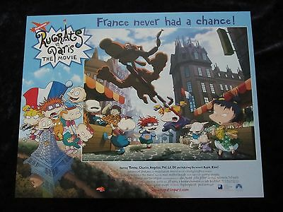 RUGRATS lobby cards - NICKLEODEON, RUGRATS IN PARIS lobby cards