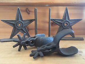 Cast iron stars and spurs