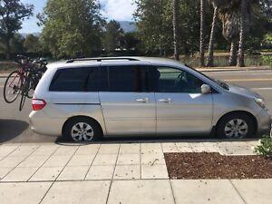 Honda Odyssey 2007, équipé road trip