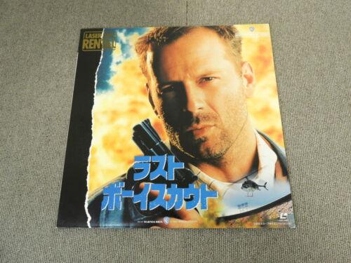 The Last Boy Scout - Laser Disc - JAPAN LD Gold-disc