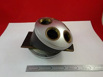 Microscope Part Leitz Germany Nosepiece Without Optics As Is Bink2-b-07