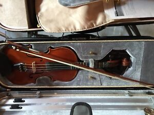 Alexander Gaspsr adult violin Budapest plus hand made bow
