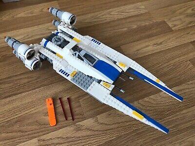 Lego Star Wars Rebel U-wing Fighter Ship Only Complete Set 75155