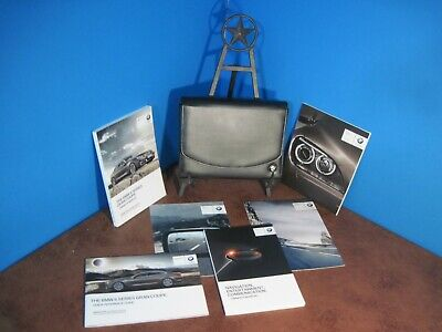 "2014 BMW 640i 650i GRAN COUPE OWNERS MANUAL & CASE ""INCLUDES FREE U.S. SHIPPING"""