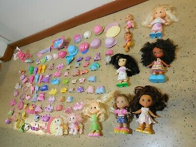 MEGA HUGE LOT Fisher Price Snap N Style, Dolls, Clothes, Shoes, Etc. 104 pieces