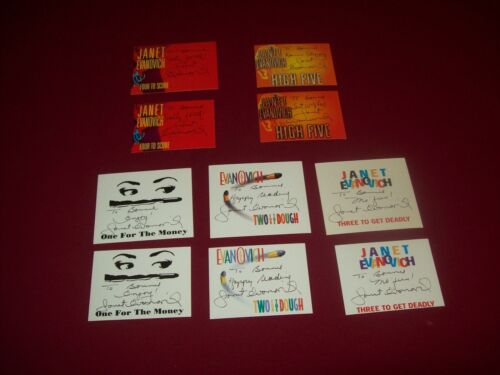 10 Signed Bookplates from Janet Evanovich ~ One For the Money