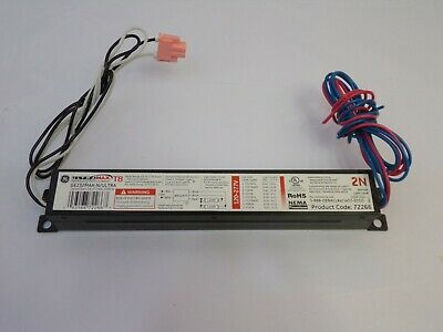 Ge232max-nultra 72266 2-lamp T8 Ballast Quantity 1 Used