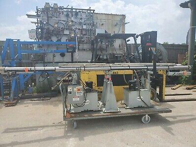 Spego Hydraulic Turnamic 12 Oal Barfeeder W123z65 Power Source Plc Control