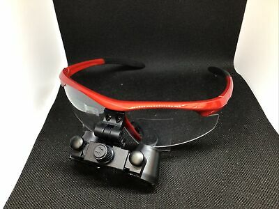 Dental Loupes Binocular Magnifier Surgical Glasses 2.5x 420mm Soft Touch Frame