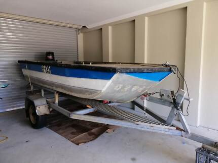 12.5 foot Custom aluminum boat Beeliar Cockburn Area Preview