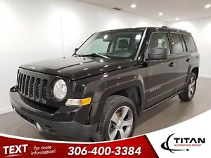 2016 Jeep Patriot High Altitude Local 4x4 Leather Sunroof