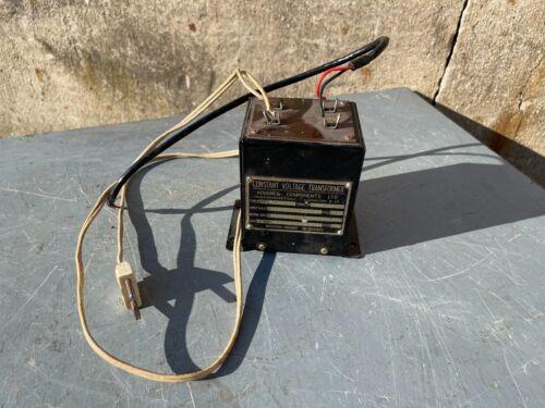 Transformer walthamstow 6V vintage unit WWII power supply