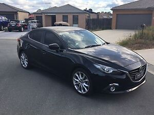 2014- Mazda 3 SP25 GT Auto - Black Macgregor Belconnen Area Preview
