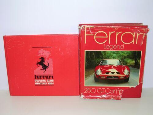 Books 1984 Ferrari Owner