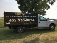 JUNK AND GARBAGE REMOVAL CALGARY 403-510-8674 mike