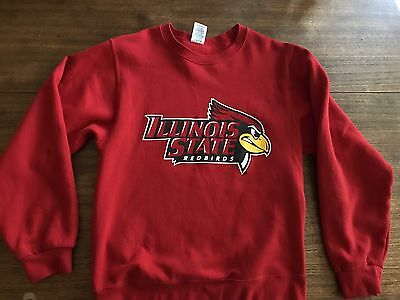 Illinois State Redbirds Sweatshirt Sz Small University Isu Mint
