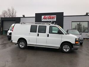 2017 Gmc Savana 2500 Ladder rack and shelving included!