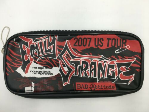 (One and Only!) Emily the Strange 2006 Cosmic Debris Graphic Novel Pencil Case!