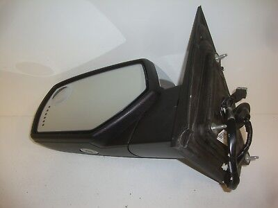 2014-18 Chevy Silverado GMC Sierra Truck Left Side Signal Door Mirror OEM Chrome