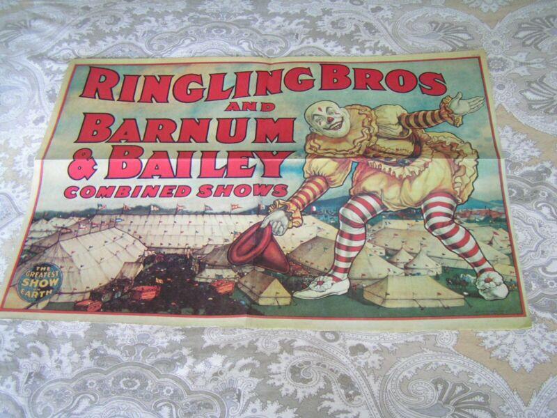 Ringling Bros Barnum & Bailey Circus Poster