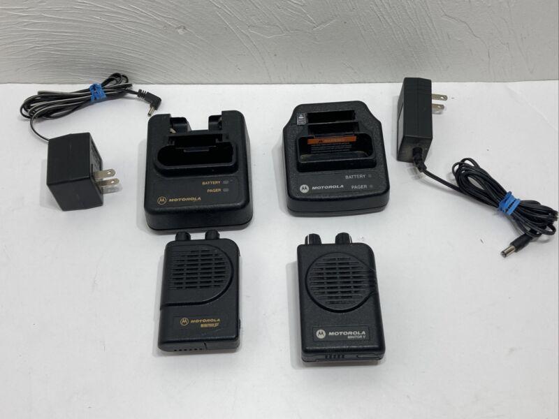 Motorola Minitor 3 And Monitor 5 Lot