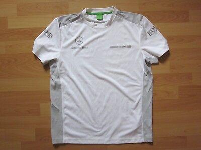 L  grau Mercedes AMG PETRONAS Team MAM GP F1 Polo Damen Shirt Formel 1 Gr