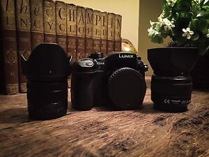 Panasonic Lumix GH4 and lenses