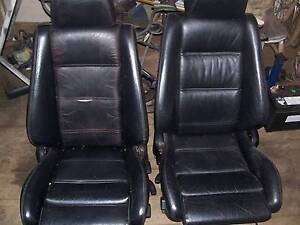 BMW E30 BLACK LEATHER SPORT SEATS Karana Downs Brisbane North West Preview