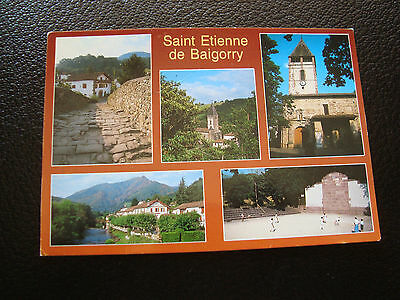 FRANCIA - tarjeta postal 1994 saint etienne de baigorri (cy62) francesa, usado segunda mano  Embacar hacia Spain