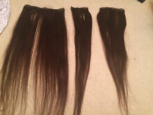 Brown hair extensions Adamstown Newcastle Area Preview