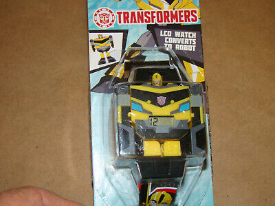 """Transformers COLLECTIBLE """"LCD WATCH"""" Converts to robot"""